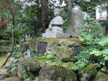 rich plum-景虎の像