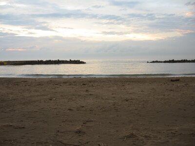 rich plum-砂浜