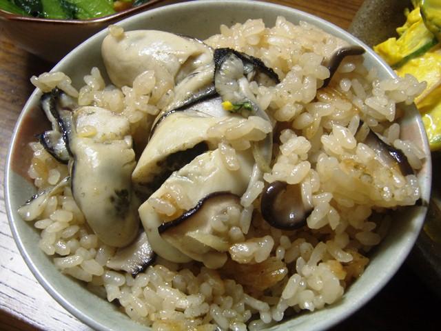 牡蠣ご飯110130