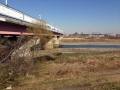 1)東名と多摩川