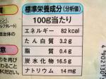 ミックスベジタブル栄養成分