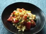 超簡単トマト入りスクランブルエッグ