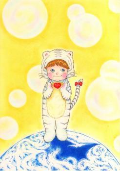 White Tiger 2010年賀状用