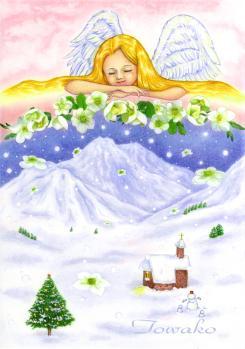 クリスマスローズの咲いた夜に