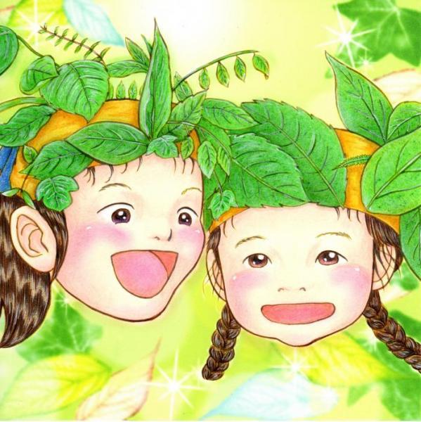 森の小さな妖精たち