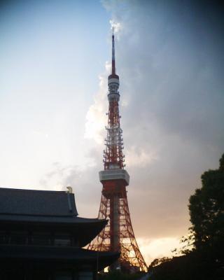 夕暮れ東京タワー:R2