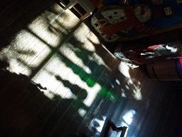 ガラスの影
