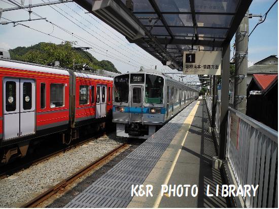 箱根湯本往きの電車