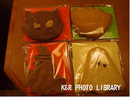 ハロウィンのクッキー