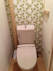 団地リノベーション トイレ