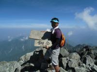 130816 剱岳06 登頂