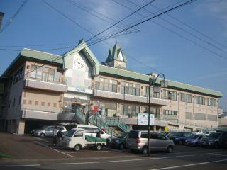 阿仁前田駅舎