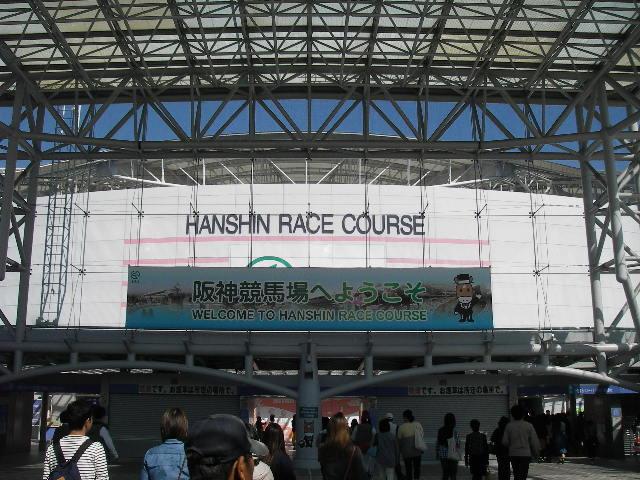 阪神競馬場201410