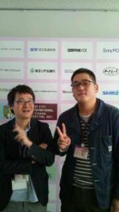 「記憶のひとしずく」の清水徹也プロデューサー(左)と畑中大輔監督#8207;