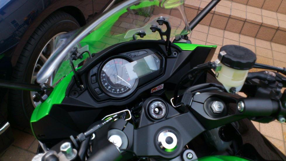 やすらぎ:Ninja1000 ハンドル ...