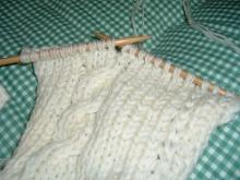 毛糸の帽子1