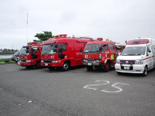 工作車&救急車