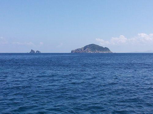 帆揚と倉島