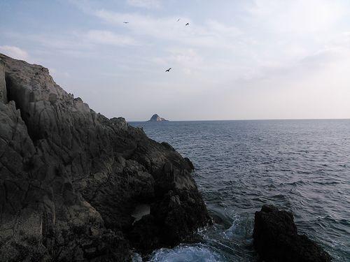 ハナレから見る草島