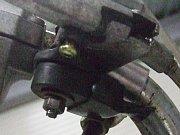 JT1 フロントブレーキスイッチ加工