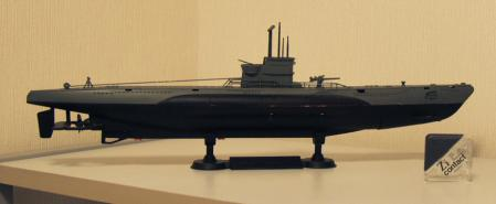 自動浮沈Uボート写真
