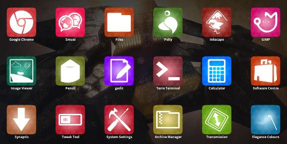 Numix-uTouch Ubuntu Touch ボタンアイコン