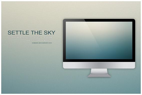 Settle The Sky Ubuntu 壁紙