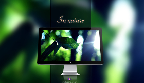 In nature Wallpaper Ubuntu 壁紙