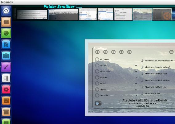 nomacs 1.6 Ubuntu 画像ビューア フレームレスビュー