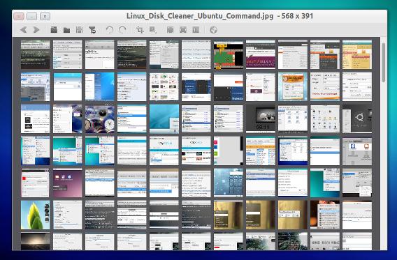 nomacs 1.6 Ubuntu 画像ビューア サムネイルプレビュー