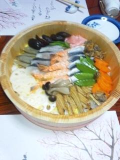 110316 さかぐち バラ寿司