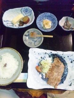 111026 奥津 古民家茶木 定食