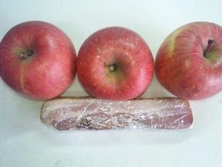 111117 りんご&スモーク・ベーコン