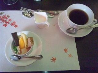 111123 ラメール デザート コーヒー