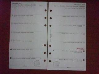 111123 ファイロファックス リフィール