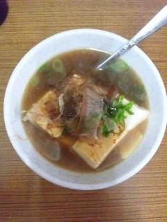 111207 成田家 栄町店 湯豆腐