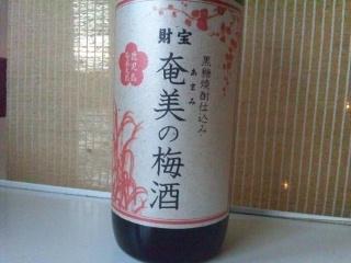 111213 奄美の梅酒