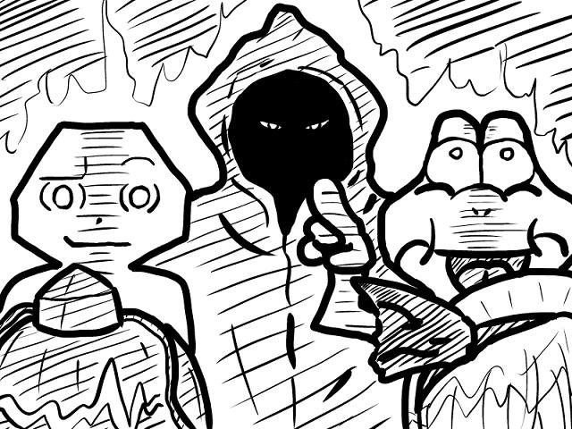 ゆっくり霊夢とやる夫が学ぶ ウルトラ怪獣大百科挿絵part16