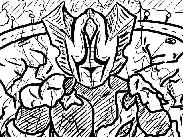 ゆっくり霊夢とやる夫が学ぶ ウルトラ怪獣大百科挿絵part19