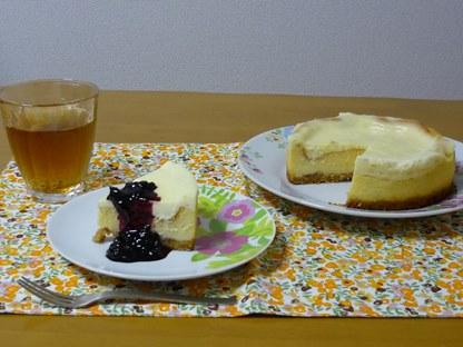 ABCでダブルチーズケーキ
