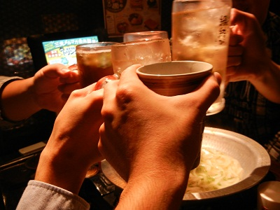 締めの乾杯!