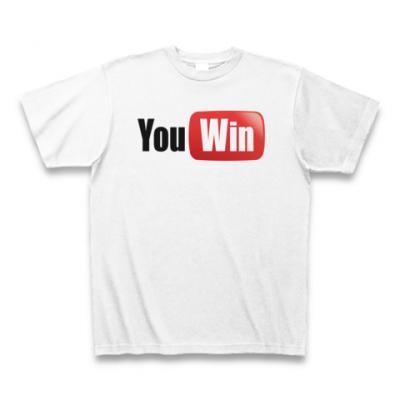 You Win Tシャツ(ホワイト)