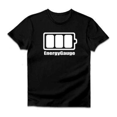 UPSOLDバッテリー(満タン)ダルクベーシックTシャツ(ダークカラー)