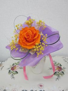 美容室の花束