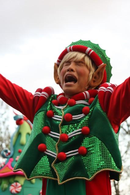 santa's village parade