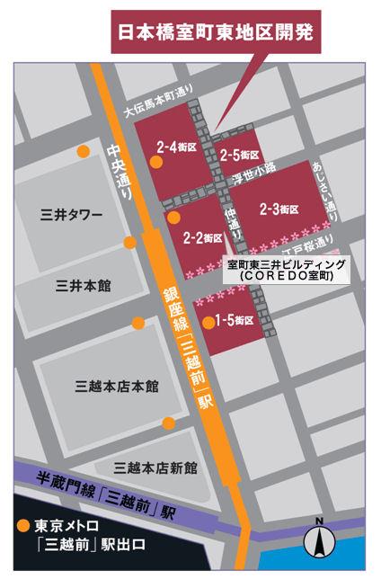 日本橋室町東地区開発