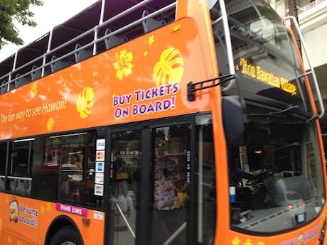 2階立てバス