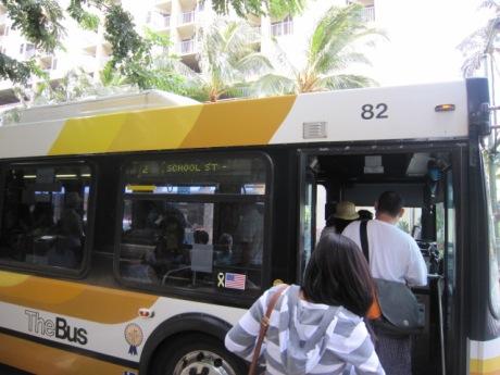2番のバスで