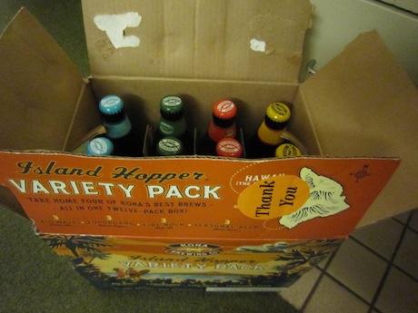 コナブリュワリーのビールを1ダース
