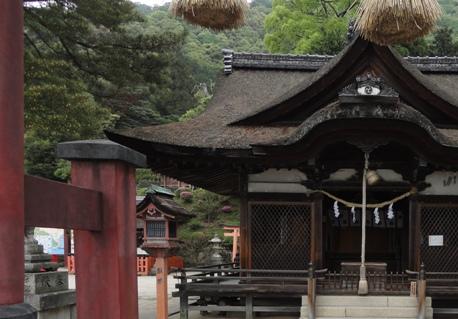 白髭神社拝殿1